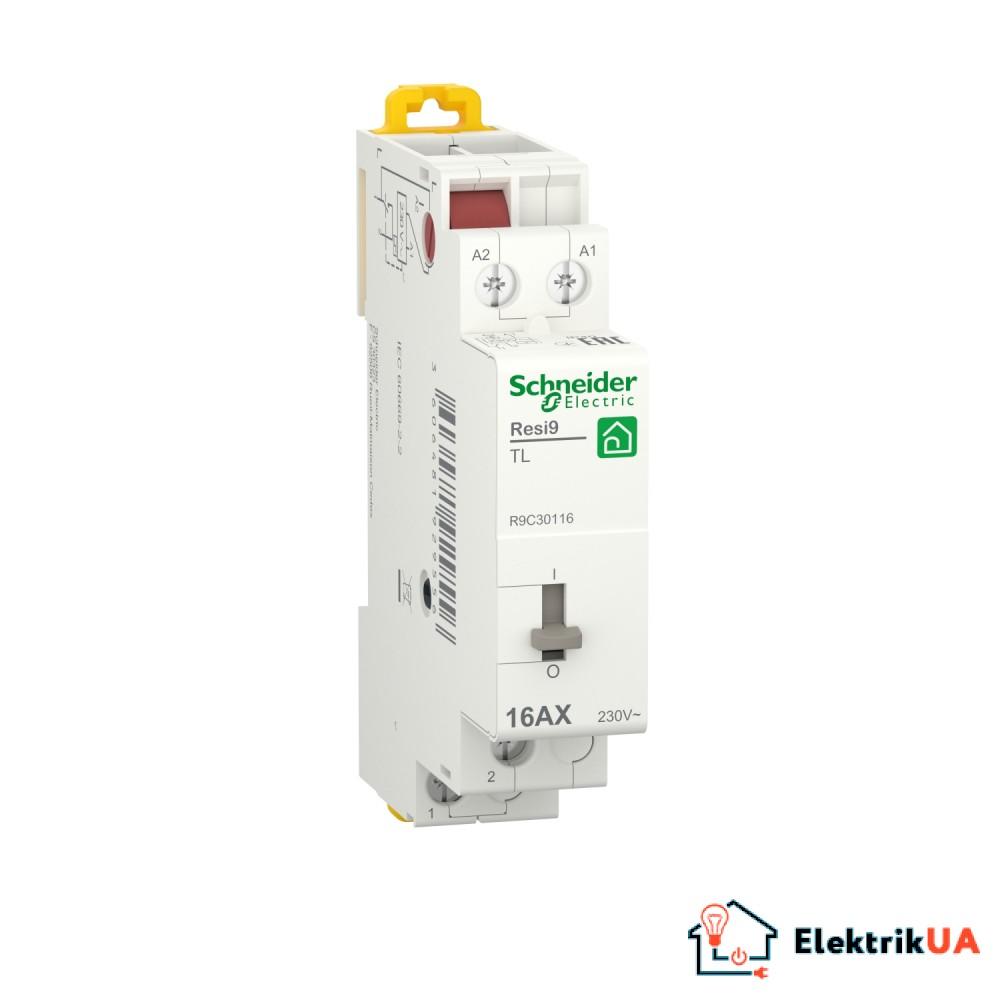 Імпульсне реле RESI9 Schneider Electric 16 A, 1NO ~230В/50Гц