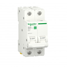 Автоматичний вимикач RESI9 Schneider Electric 10 А, 2P, крива В, 6кА
