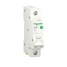 Автоматичний вимикач RESI9 Schneider Electric 25 А, 1P, крива С, 6кА