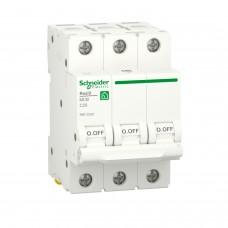 Автоматичний вимикач RESI9 Schneider Electric 20 А, 3P, крива С, 6кА