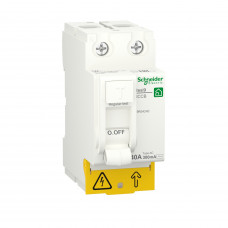 Диференційний вимикач навантаження RESI9 Schneider Electric 40 A, 300 мA, 2P, тип АС