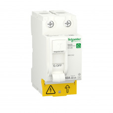 Диференційний вимикач навантаження RESI9 Schneider Electric 40 A, 30 мA, 2P, тип А
