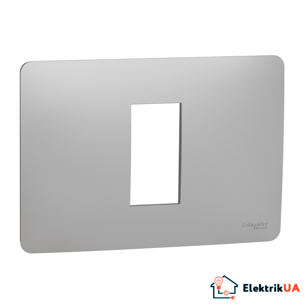 Рамка 1 модульна Unica Studio алюміній