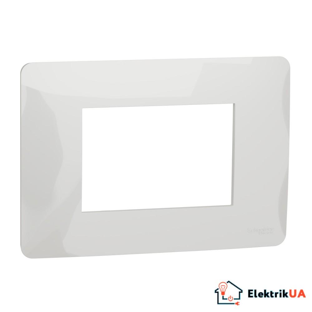 Рамка 3-модульна, білий