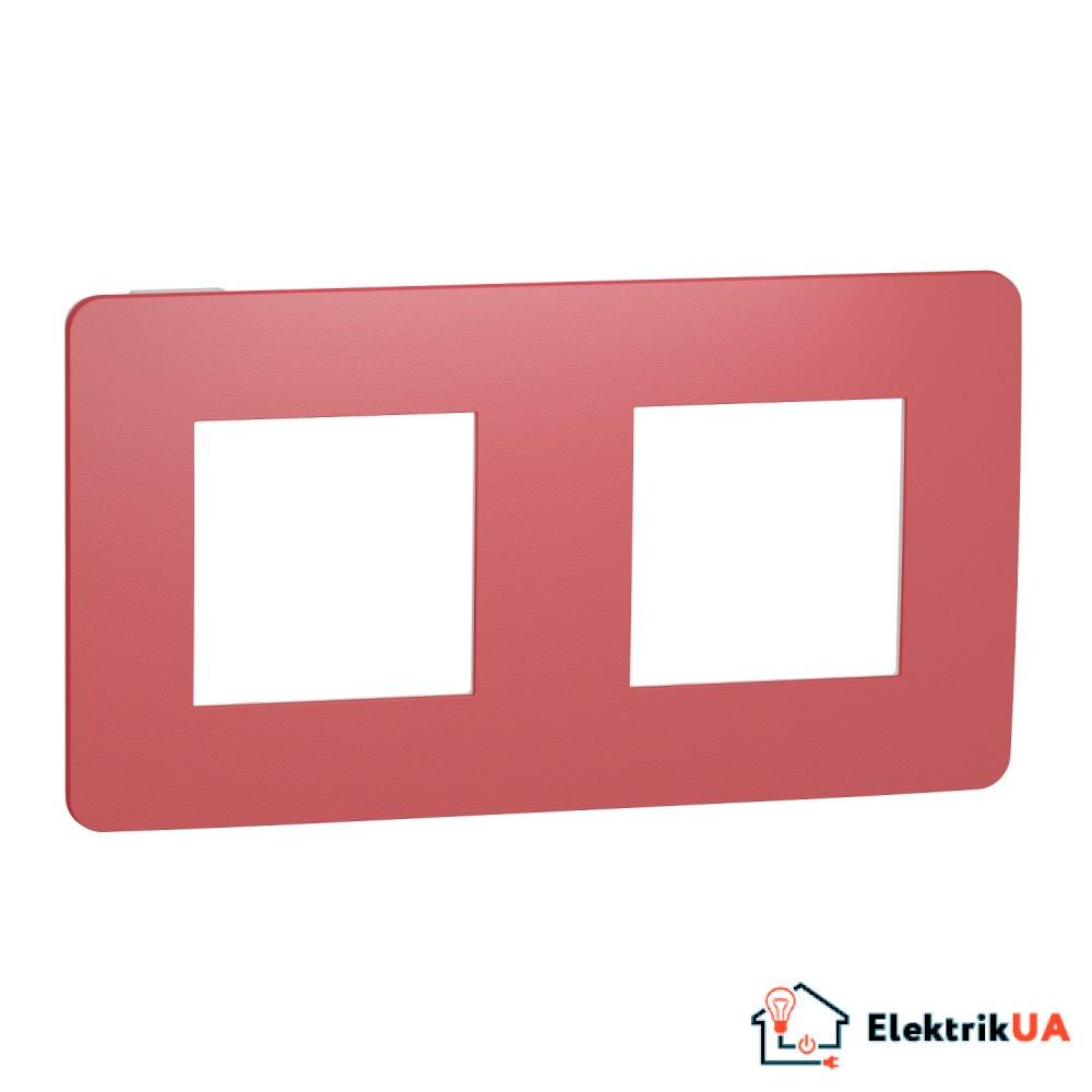 Рамка 2-постова, Червона/білий