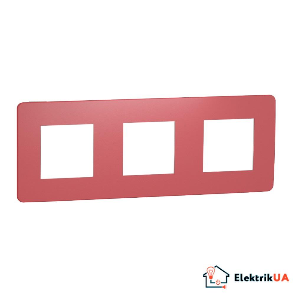 Рамка 3-постова, Червона/білий