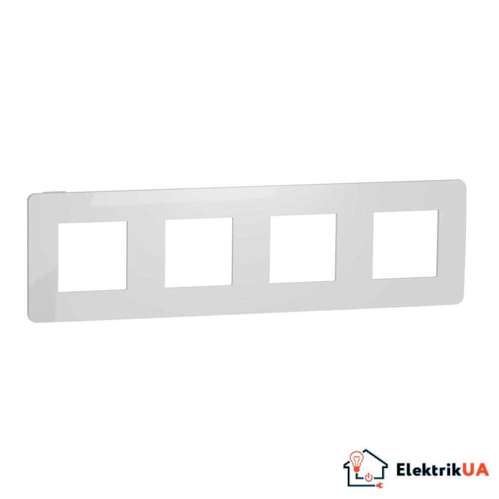 Рамка 4-постова, Білий/білий