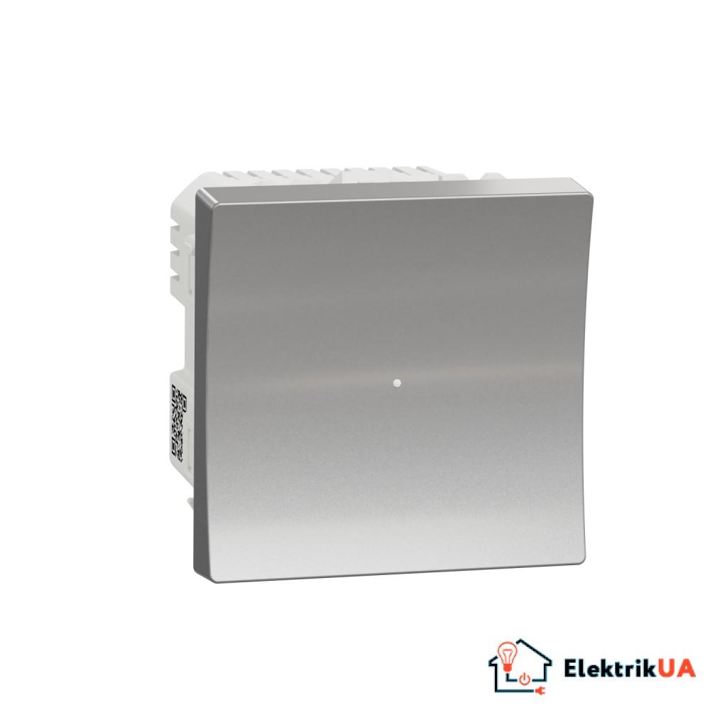 Wiser pелейний вимикач 10A білий алюміній