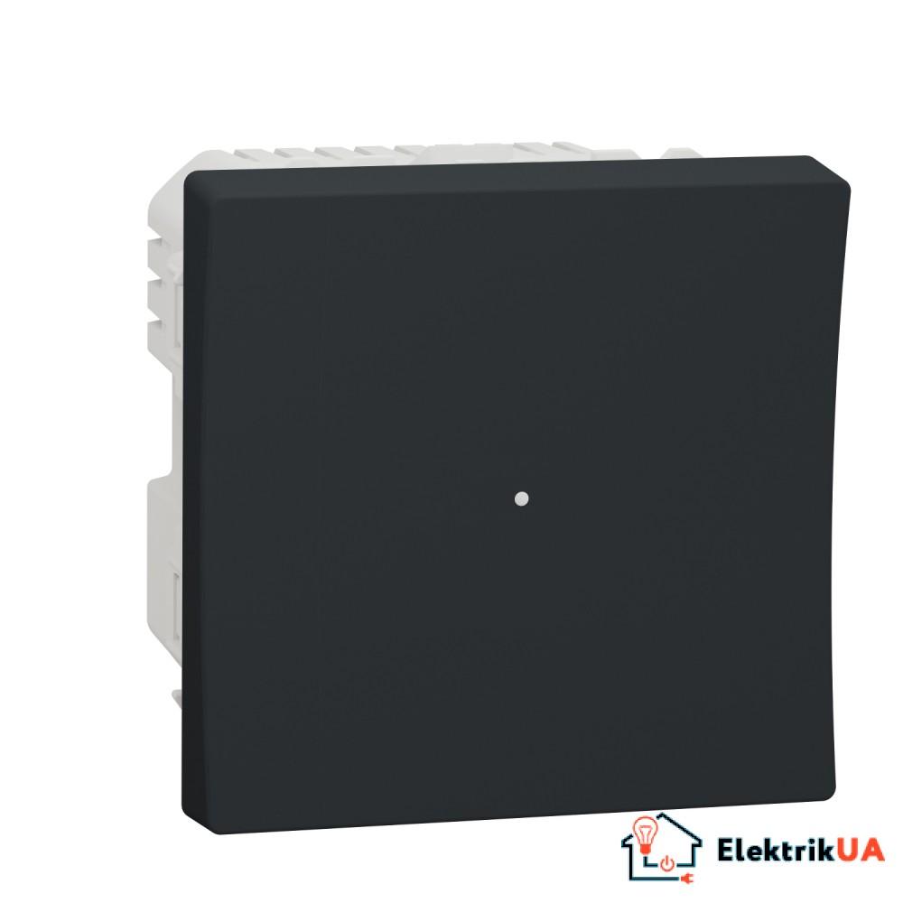 Wiser pелейний вимикач 10A білий антрацит