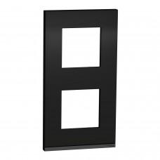 2 постова рамка вертикальна Unica Pure каучук