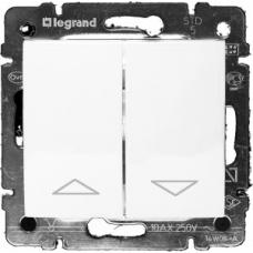 Механизм управления жалюзи с механической блокировкой Legrand Valena белый (774404)