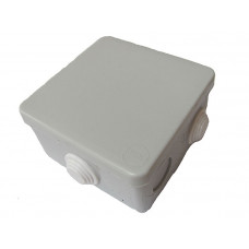 Коробка наружная распределительная с крышкой (70х70)