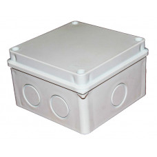 Коробка наружная распределительная с крышкой (110х110)