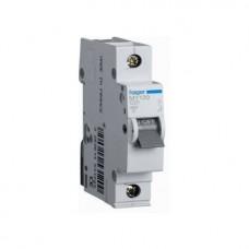 Автоматический выключатель Hager In10 А, 1п, С, 6 kA, 1м (MC110A)