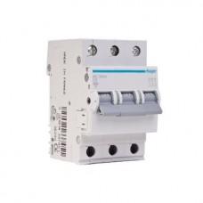 Автоматический выключатель Hager In10 А, 3п, С, 6 kA, 3м (MC310A)