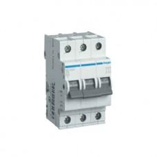 Автоматический выключатель Hager In25 А, 3п, В, 6 kA, 3м (MB325A)