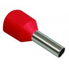 Наконечник-гильза с изолированным фланцем Е1508 1.5мм2 ІЕК (100 шт)