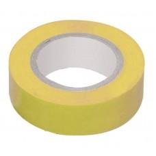 Изолента 0,13х15мм   желтая 10 метров IEK