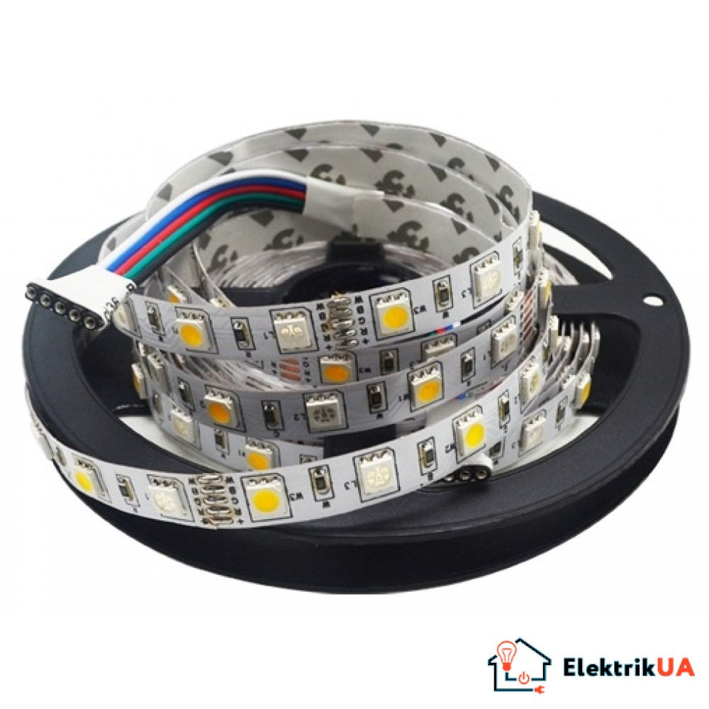 Led лента SMD5050 12VDC RGB+W LED Strip 60LED/1M (цена за 1 метр) LS5050RGBW