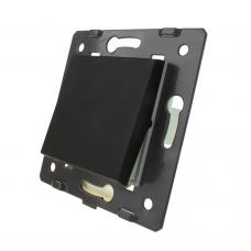 Клавишный выключатель Livolo, модуль 1 линия, цвет черный (VL-C7-K1-12)