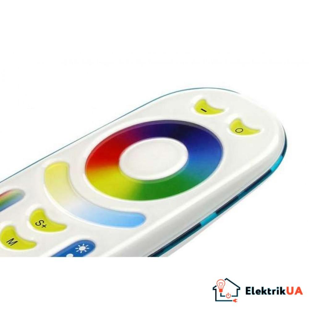 RL092-RGB 4-хзонный Touch пульт управления RGB+RGBW+ССT Mi-Light
