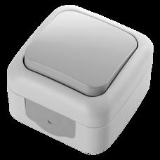 Выключатель VIKO Palmiye серый (90555501)