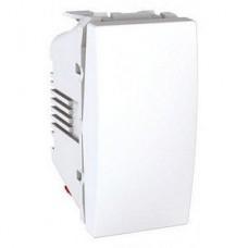Выключатель одноклавишный 1 модуль Schneider Electric 10А Unica Белый MGU3.101.18