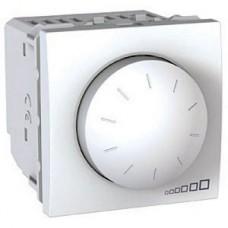 Светорегулятор (диммер) поворотно-нажимной 40-400Вт 2 модуля Schneider Electric Unica Белый MGU3.511.18