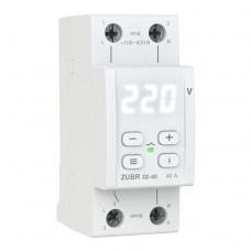 Реле контроля напряжения ZUBR D2-40