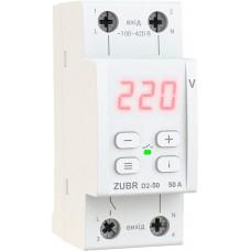 Реле контроля напряжения ZUBR D2-50 red
