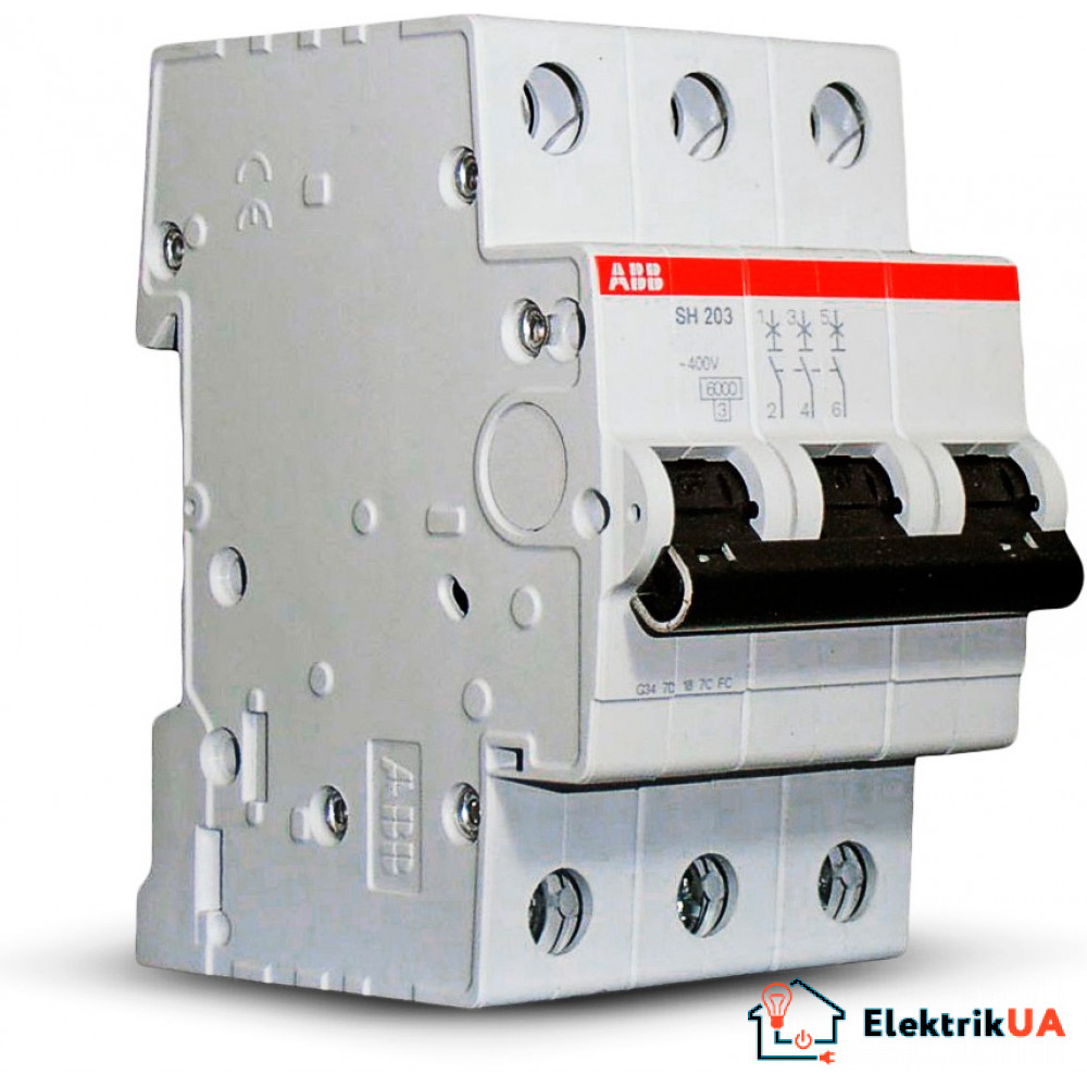 Автоматический выключатель ABB SH203-C  32A