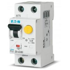 Дифференциальный автомат EATON PFL6-20/1N/C/003 (286468)