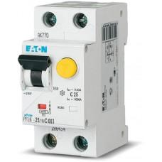 Дифференциальный автомат EATON PFL6-25/1N/C/003 (286469)