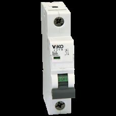 Автоматический выключатель Viko, 1P, C, 25A, 4,5kA (4VTB-1C25)
