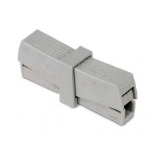 Клемма WAGO на 2 провода с нажимными рычагами для подключения светильников (224-201)