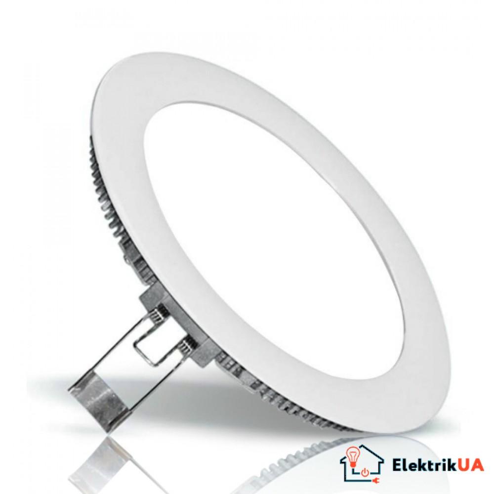 LED панель Lemanso 9W 550LM 6500K круг / LM401