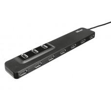 Концентратор Trust Oila 10port port USB 2.0 Hub