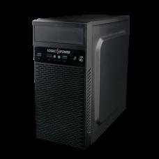 Корпус Logicpower 6101 400W 12см MATX USB 3.0 Black
