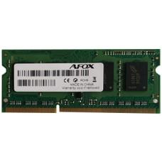 Оперативная память AFOX для ноутбука DDR3 2Gb 1600Mhz БЛИСТЕР OMC