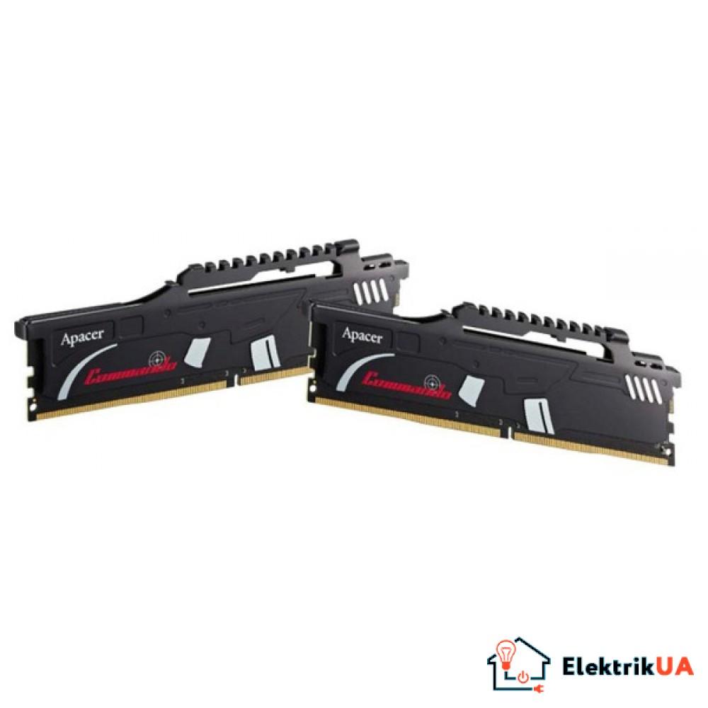 Оперативная память Apacer KIT DDR4 2x8Gb 2666Mhz 512X8 EK.16GAV.KEAK2 Commando