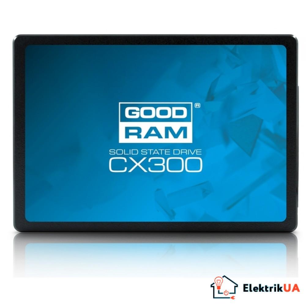 SSD накопитель Goodram CX300 120GB SATAIII TLC (SSDPR-CX300-120)