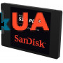 SSD накопитель Sandisk Plus 120GB SATAIII TLC (SDSSDA-120G-G27)