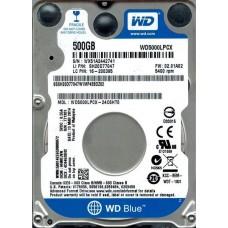 Жесткий диск Western Digital 500GB 5400rpm 16MB SATAIII WD5000LPCX