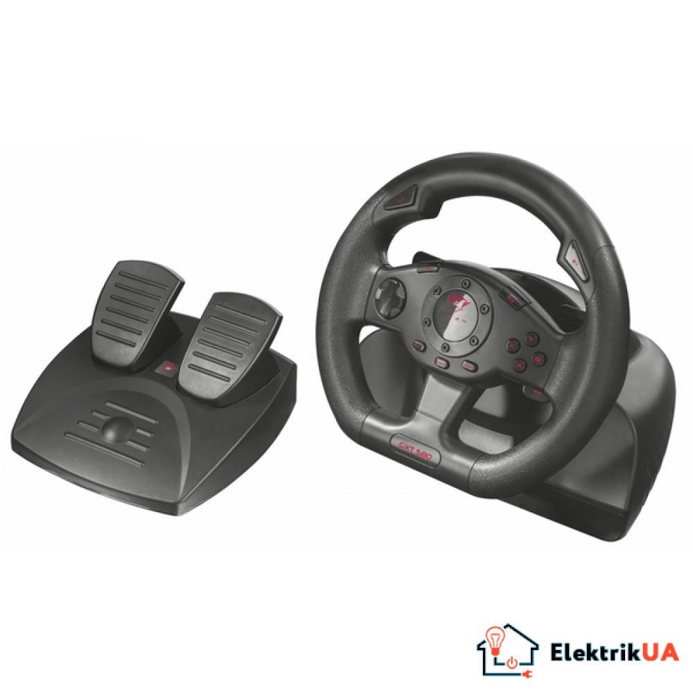 Игровой манипулятор Trust GXT 580 vibration feedback racing wheel