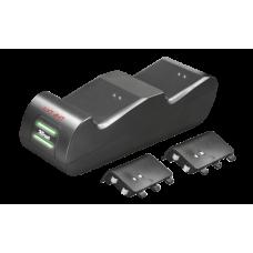 Двойная зарядная станция Trust GXT 247 Duo Charging Dock for Xbox one
