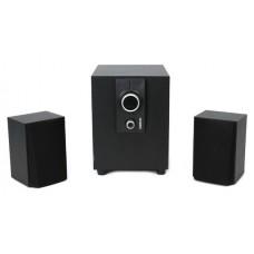 Аккустика Omega 2.1 OG-24W wood 25W Black