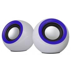 Аккустика Omega 2.0 OG-116B white blue 2x3W RMS USB