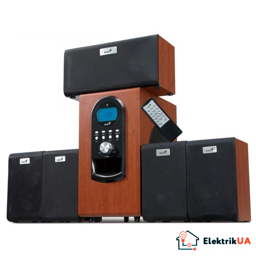 Аккустика Genius SW-HF 5.1 6000 Wood