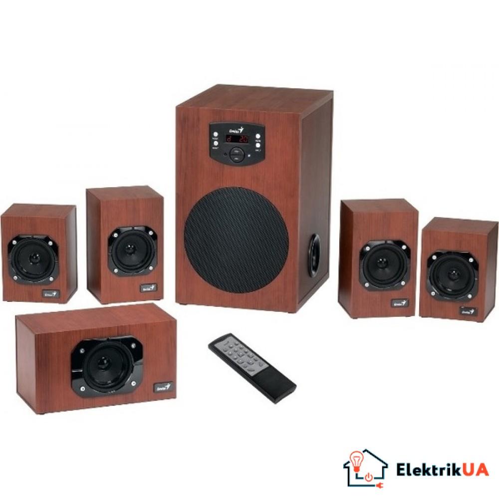 Аккустика Genius SW-HF5.1 4600 Wood