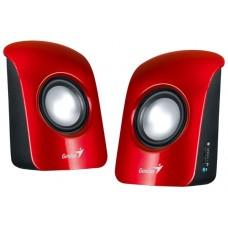 Акустика GENIUS SP-U115 red, USB